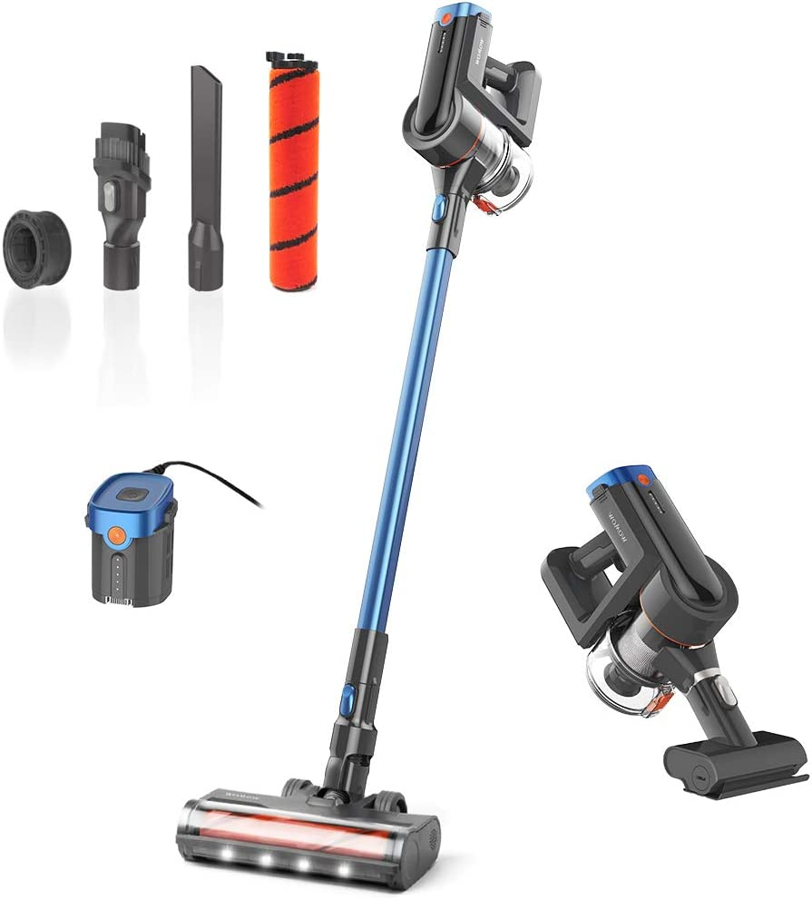 Womow Gifts Cordless Vacuum Cleaner shipfree 25Kpa 400W Powerful Stick