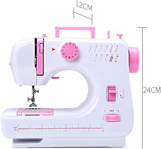 Máquina de coser Máquina multifuncional doméstica de doble hilo y ...