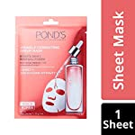POND'S Wrinkle Correcting Serum Mask With Hyaluronic Acid & Avocado Extract, 21g