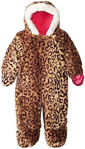 Wippette baby-girls newborn faux fur animal pram, taupe, 6-9 months