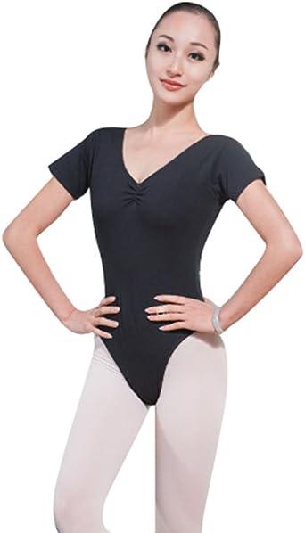 ZKOO Adultos Leotardos de Ballet Dancewear Sin Mangas para ...