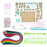 quilling paper sheets - Paper Quilling Set 26 Assorted Colors 780 Sheet with 11 Quilling Kit Include Mold,Workboard Comb Tools Beginner Set 3mm/5mm/7mm