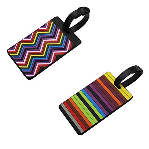 Lovely Secure Luggage Tags PVC Suitcase Luggage Tags Business Card Holder/Travel ID Bag Tag