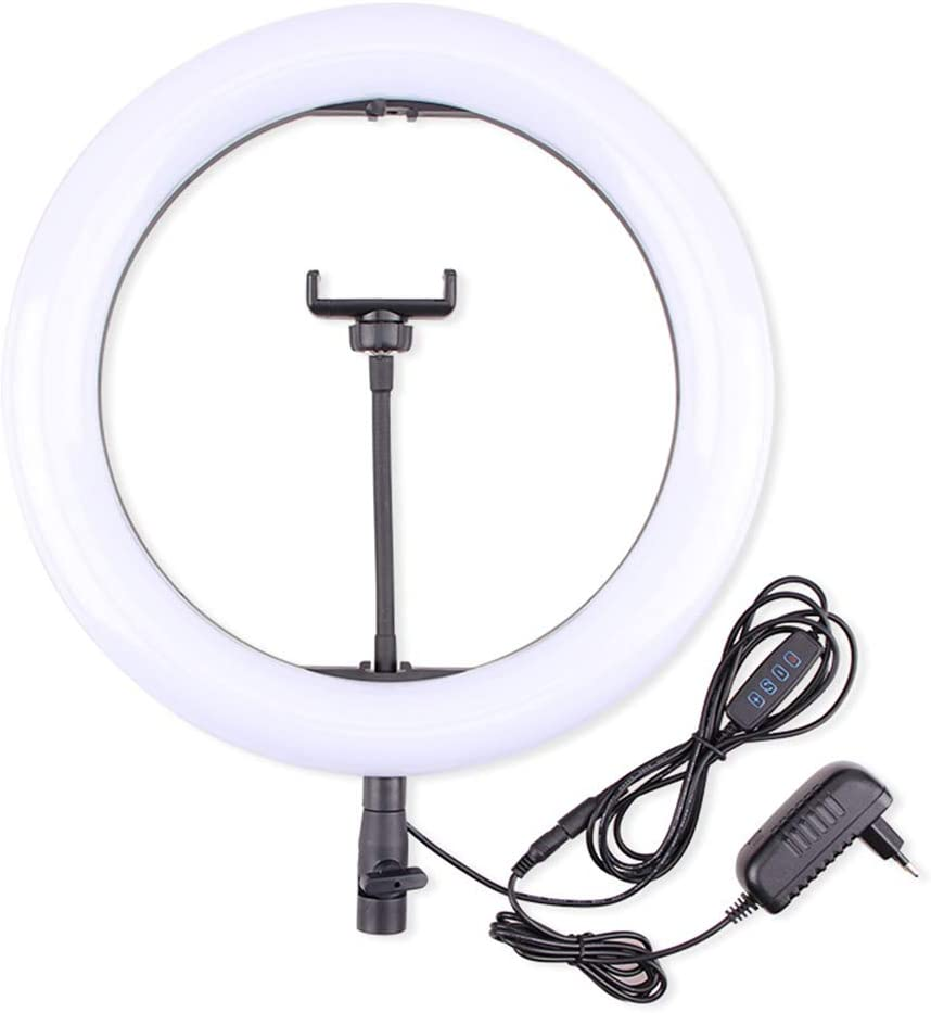 Live Ring Light Adjustable Brightness Make-up Light Self-Timer with Mobile Phone Holder Ring Light Three Colors Can Be Changed