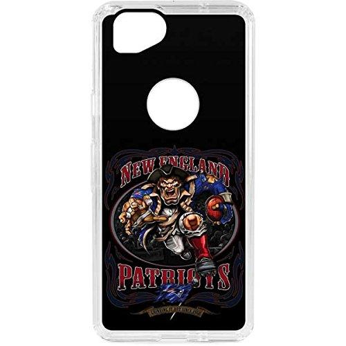 Skinit NFL New England Patriots Google Pixel 2 LeNu Case - New England Patriots Running Back Design - Premium Vinyl Decal Phone Cover