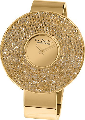 Jacques Lemans La Passion LP-118G Wristwatch for women With Swarovski crystals
