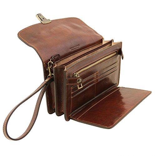 Pelle Arthur Tuscany In nero A Borsello Leather Di Mano Moro Esclusivo Tl141444 Testa 0pYq5rp