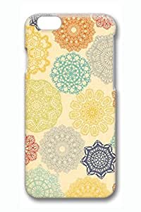 Colorful Flowers Slim Hard Cover Diy For SamSung Galaxy S6 Case Cover PC 3D Cases