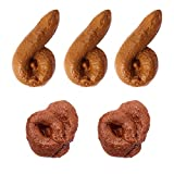 YYYux Fake Poop Novelty Prank Gift, Party Birthday April Fool's Day Trick Toys (Fake poop)