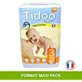 Tidoo 56 couches Taille 3 : Midi 4 9Kg