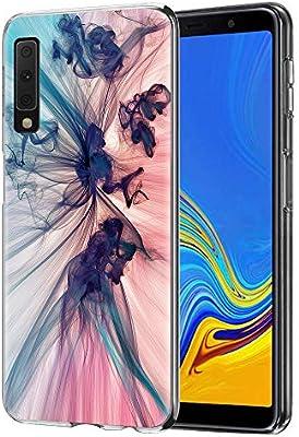 ZhuoFan Funda Samsung Galaxy A7 2018, Cárcasa Silicona 3D ...