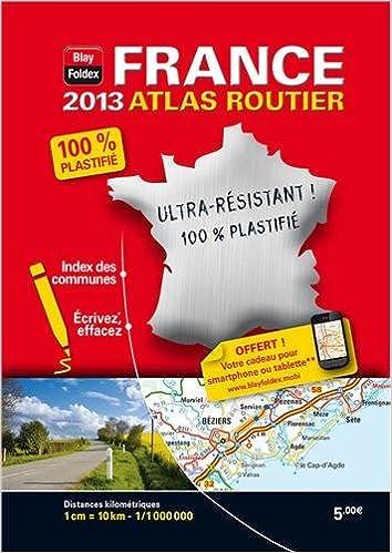 Lire un France - Mini Atlas Plastifié 2013 - Echelle : 1/1 000 000 pdf epub