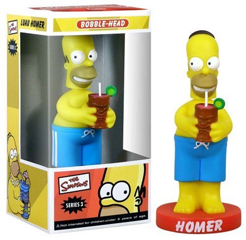FUNKO INC. Luau Homer Simpson Wacky Wobbler