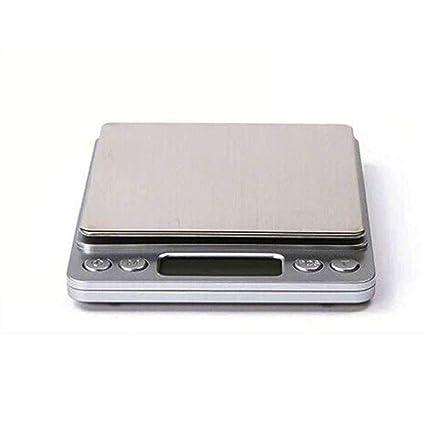 QUICKLYLY Báscula Digital Para Cocina De Balanza Alimentos Peso Electrónica Alta Smart Weigh Mini Escalas 0.1