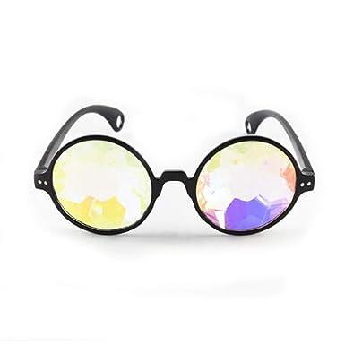 Ankamal Elec Gafas de sol vintage Caleidoscopio Faceta de ...