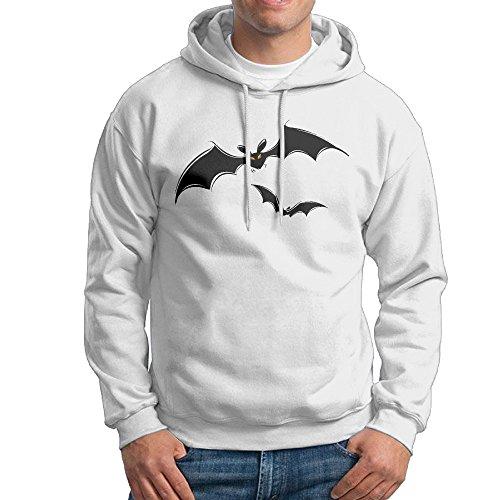 Fashion Men's Halloween Bats Pullover - Wolf Bat Australian