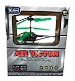 Green Air Victor 2CH Mini Infrared Remote Control Helicopter
