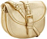 Isaac Mizrahi – Handbags Women's Marlene IM92026-000 Cross Body,Gold Leather,One Size, Bags Central