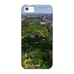 Hot Gorgeous Panorama Of Central Park First Grade Phone Cases For Iphone 5c Cases Covers