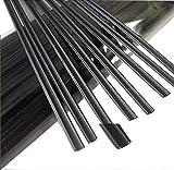 "Weststone 100pcs 11"" (28cm) Black Plastic Ties"