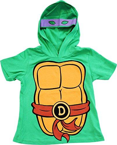 Tmnt Splinter Costumes (TMNT Teenage Mutant Ninja Turtles I Am Don Costume Tee Hoodie (Boys 7X/8))