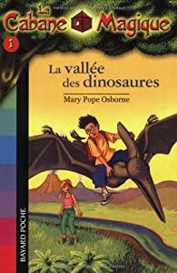 """Afficher """"La Cabane magique n° 1<br /> La Vallée des dinosaures"""""""