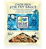 Blue Dragon Stir Fry Sauce, Chow Mein, 3.4 Ounce (Pack of 12)