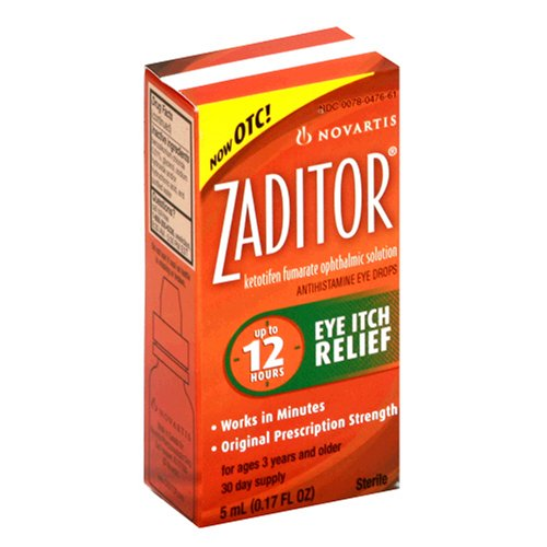 (Zaditor Antihistamine Eye Drops,)