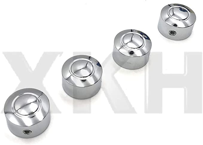Peaked Rocker Box Bolt Cover Caps for 1999-2019 Harley-Davidson Motorcycles Chrome Kuryakyn 8693 Motorcycle Accent Accessory Pack of 6
