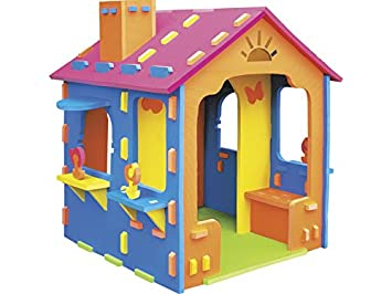 Casa Gigante Goma Eva 79x79x125 cm: Amazon.es: Juguetes y juegos