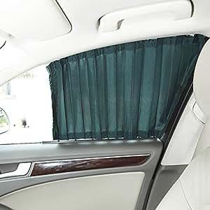 amazzang-1par 50cm ajustable VIP coche ventana cortina de malla estilo UV Parasol Visera bloque