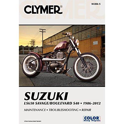 Clymer Suzuki LS650 Savage Boulevard S40 (1986-2012) ()