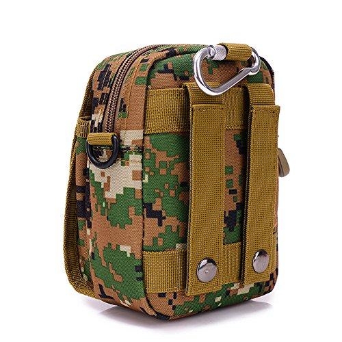 Satchel Bag Black Pockets Wear Mini Unisex 7f5qPzdwv