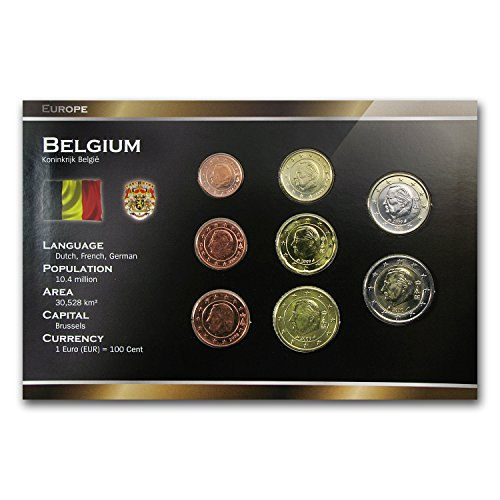 Euro Coin Sets (BE 1999 -2011 Belgium 8-Coin Euro Set Brilliant Uncirculated)