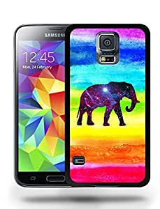 Aztec Tribal Space Elephant Hipster Pattern Phone Case Cover Designs for Samsung Galaxy S5