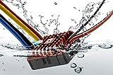 Hobbywing QuicRun WP Crawler Brush Brushed 1080 80A ESC Electronic Speed Controller Waterproof ESC With Program Box LED BEC XT60-Plug RC Car 1:10 1/8 30112750