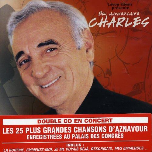 CD : Charles Aznavour - Live Au Palais Des Congres 2004 (Canada - Import)
