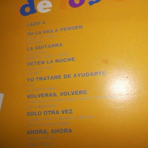 Los Darts, Cacao y Leche Azucar, Los 007, La Gran Fogata, Los Carabineros, Los Tres Tristes Tigres, Grupo Trazos, Grupo C, Grupo Way, Los Cazadores, ...