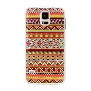 ZXM-Estilo Abstracto Nacional Modelo geométrico plástico duro caso para i9600 Samsung Galaxy S5