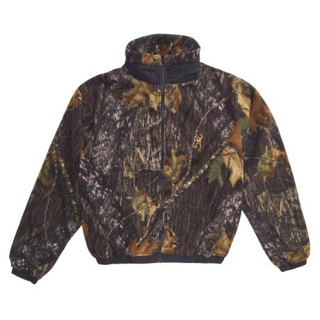 (Browning TF-300 Midweight Fleece Camo Kids Jacket MOINF Small)