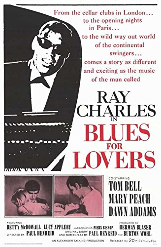 Blues for Lovers Poster Movie 11x17 Ray Charles Tom Bell Mary Peach Dawn Addams