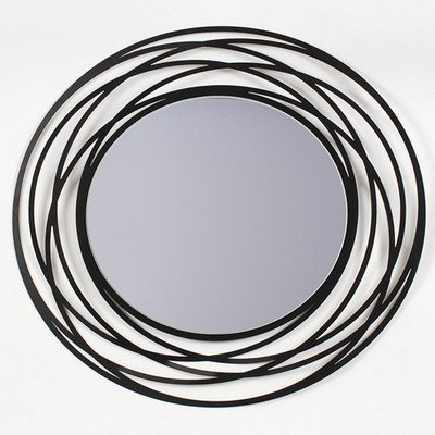 MZ Berger Modern Wall Mirror (Modern For Walls Round Mirrors)