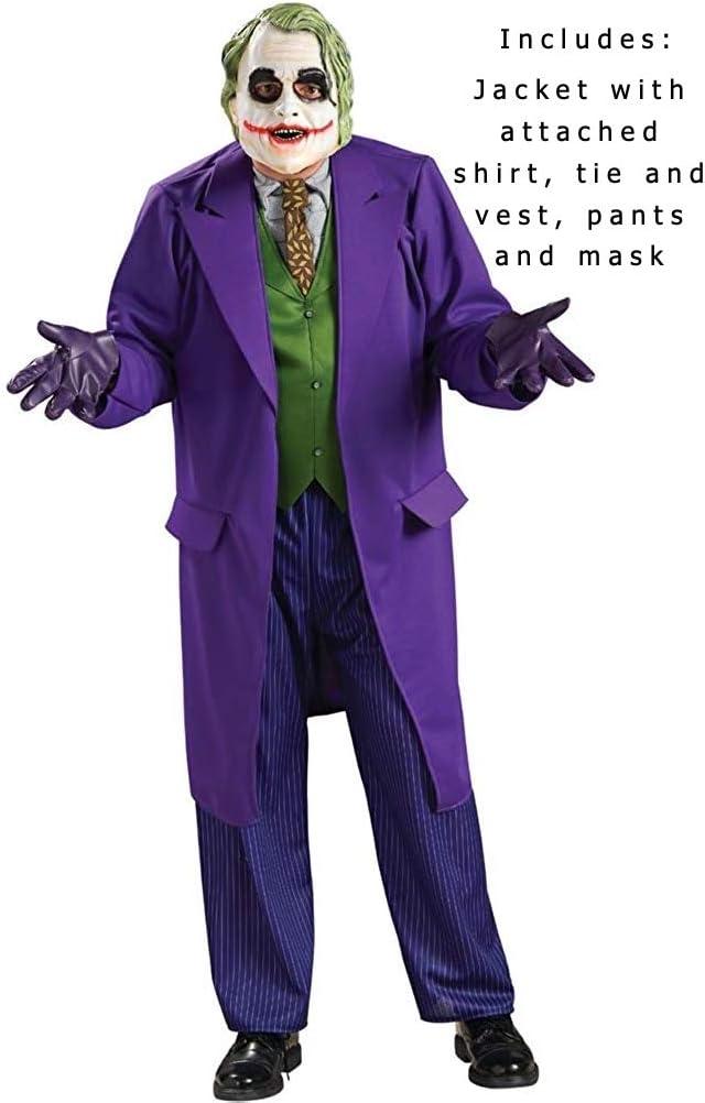 Rubbies - Disfraz de Joker para hombre, talla única (I-888632STD ...