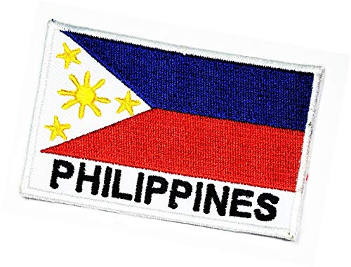 Philippines Flag Patch Philippines National Country Flag