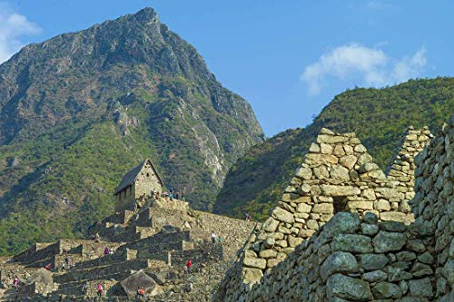 Peru, Photography, Machupicchu, stone buildings, Inca Civilazation, Art print, Wall Art, Decor, Gift, Photo, Andes, mountains, archiological site, South America, Latin America
