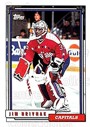 dd3d8d9011a Amazon.com  (CI) Jim Hrivnak Hockey Card 1992-93 Topps (base) 18 Jim ...