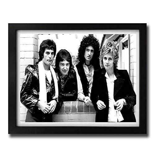 boxprints Queen Freddie Mercury Cartel Icónico de la Leyenda ...