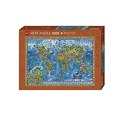 Heye Puzzle Amazing World 3000 Pezzi Vd 29386