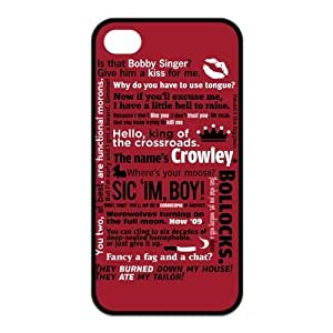 Funny SPN Supernatural Quotes Protective Hard Case For Samsung Note 2 Cover