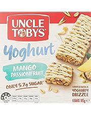 Uncle Toby's Yoghurt Topps Mango & Passionfruit Muesli Bars, 185g